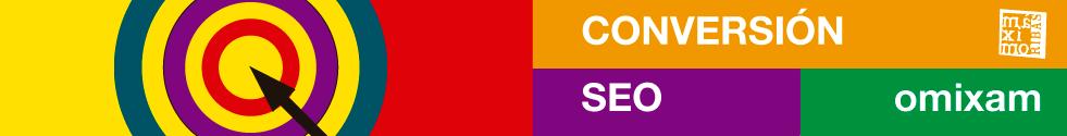 grafico con una diana con una flecha en el centro que representa el concepto de conversión para el posicionamiento en internet en las visitas en los sitios webs